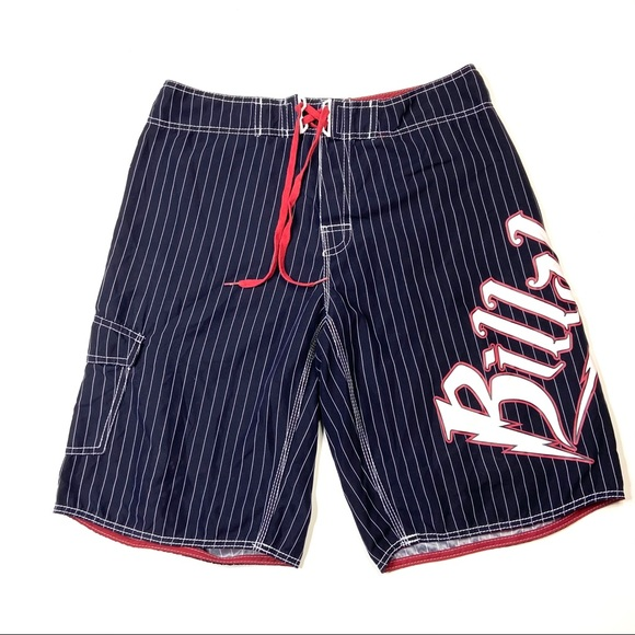 Billabong BRIAN GRUBB Swim Board Shorts 34 Stripe